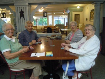 A seniors group event.