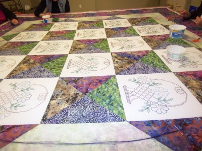 Erb quilting my quilt 3
