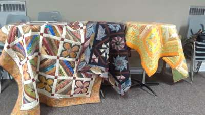 Show and Tell before delivery to MCC for the Quilt Auction_l